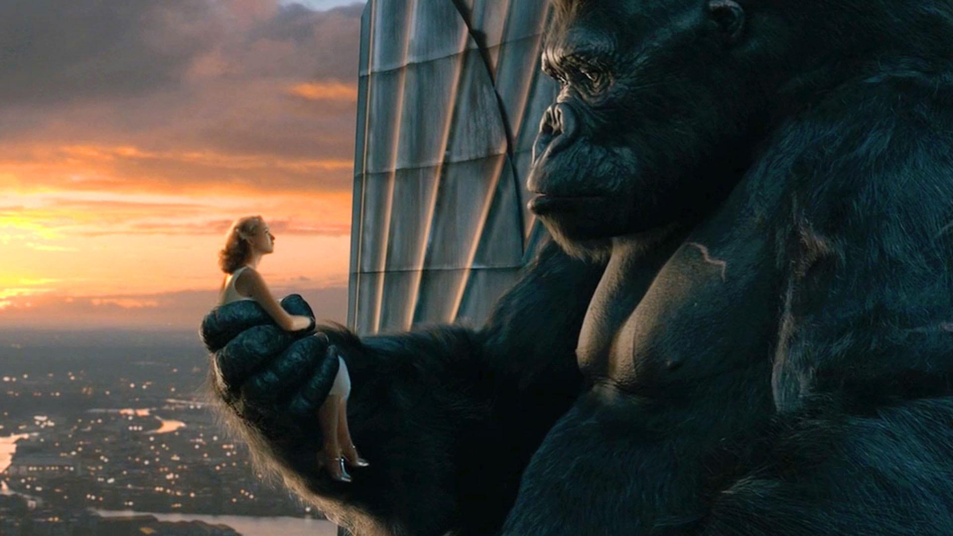 King Kong Empire State Building With Girl Images & Pictures - Becuo King Kong Empire State Building With Girl