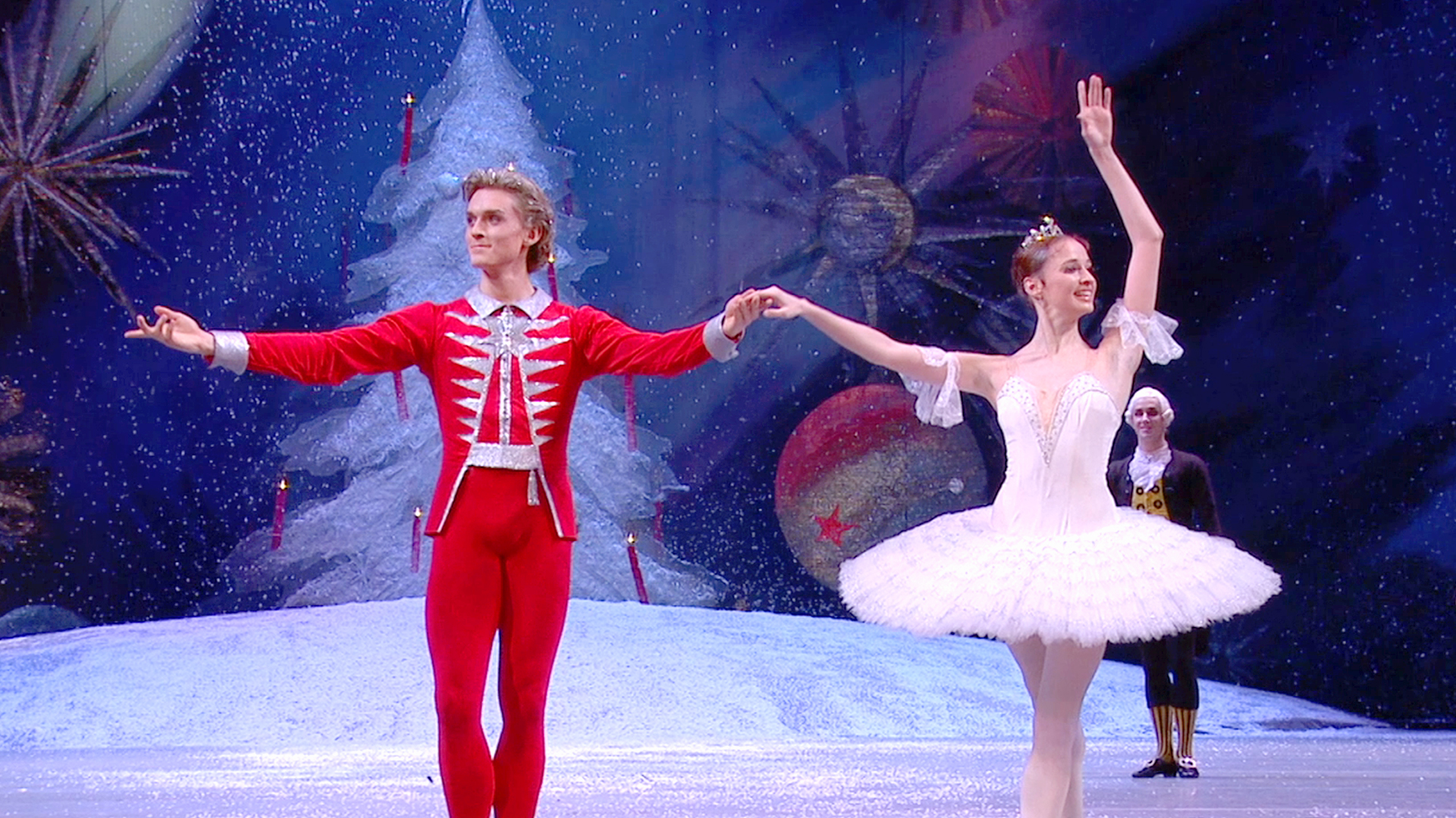 Please Note. Entry to George Balanchine's The Nutcracker® requires a New York City Ballet ticket printed by the David H. Koch Theater. E-tickets, print-at-home tickets, and copies of tickets are not valid and will not be accepted.
